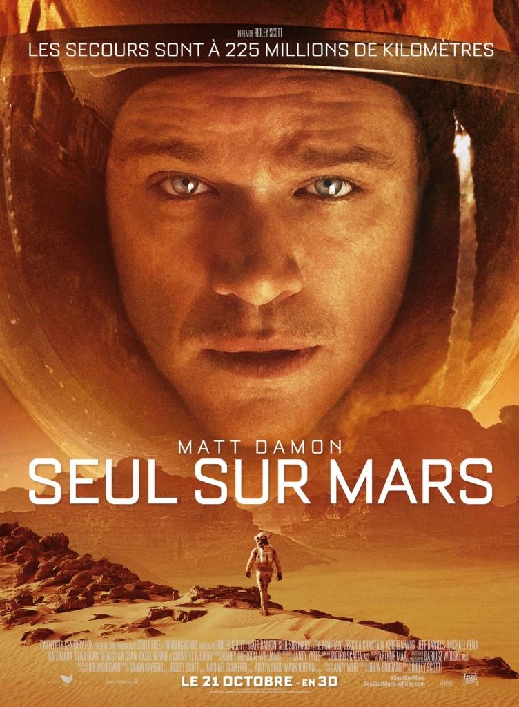 [Critique] « Seul sur Mars », Matt Damon livré à lui-même dans un film spatial tendu