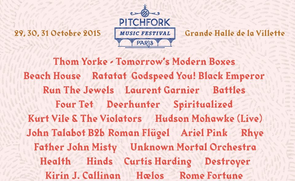5 artistes à ne pas manquer au Pitchfork Music Festival 2015