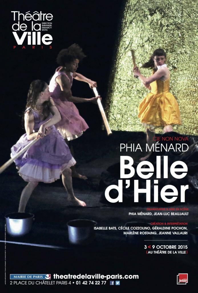 « Belle d'Hier » de Phia Ménard : Un conte de fée non pas larmoyant, mais humide.