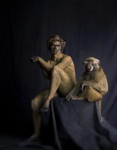 Baboon, Tirage pigmentaire sur papier Hahnemühle Fine Art 50 x 40 cm Edition de 12 © Lennette Newell, 2011