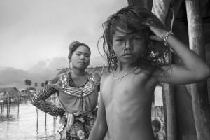 Badjao, mer de Sulu- Courtesy Galerie Argentic © Pierre de Vallombreuse