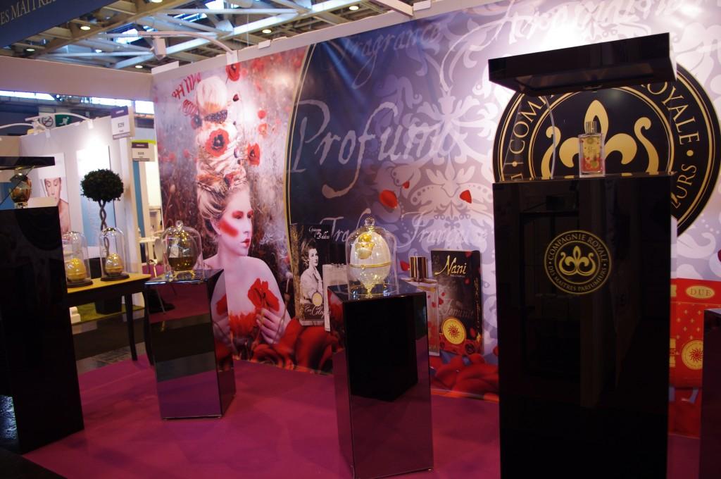 Le parfum au salon professionnel Beyond beauty paris 2015