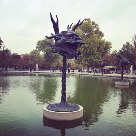 Fiac hors les murs zoom sur le jardin des tuileries et for Fiac 2015 jardin des tuileries