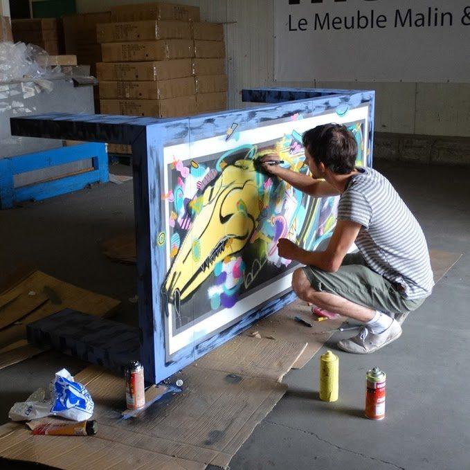 [Interview] Selor «Il y a un fossé entre mes peintures sur toile et mes peintures murales»
