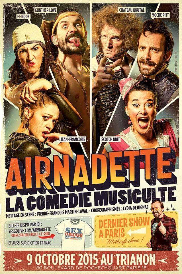 Airnadette au Trianon : la comédie «musiculte»