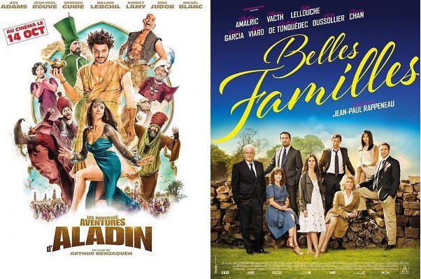 Kev Adams roi du box-office France avec 1,5 million d'entrées pour Les nouvelles aventures d'Aladin