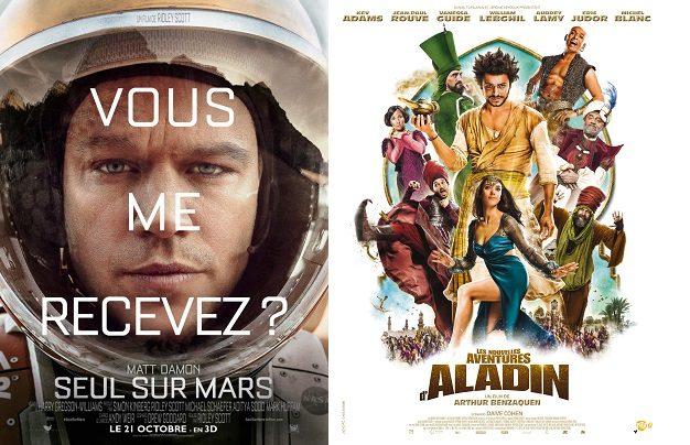 Box-office France semaine : 1,1 million d'entrées pour Seul sur Mars, déception pour Mon Roi de Maiwenn