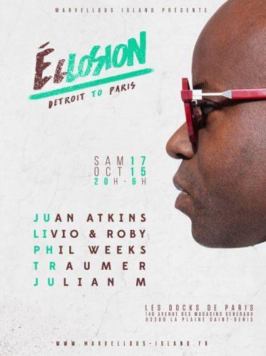 Gagnez 4 x 2 places pour la soirée ECLOSION le 17 octobre 2015 !
