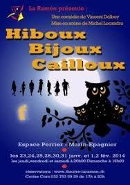 Hiboux, bijoux… cailloux !, de Vincent Delboy