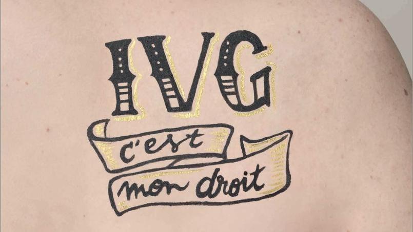 Des tatouages pour soutenir le droit à l'ivg