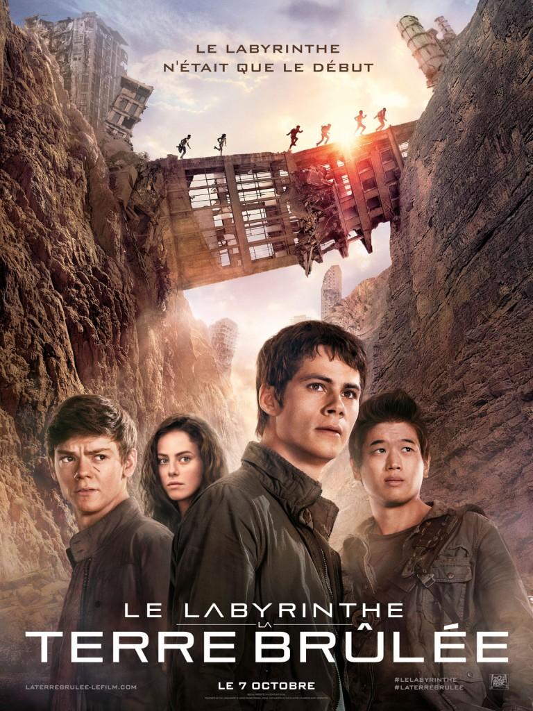 [Critique] « Le Labyrinthe 2, la Terre Brûlée » Film pour ados sans personnalité
