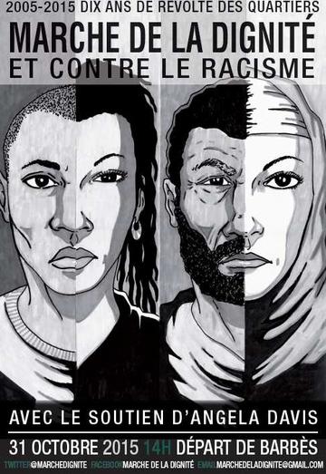 Marche de la dignité contre le racisme et les violences policières à Paris samedi 31 octobre 2015