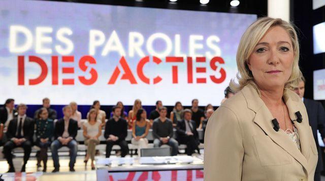 Marine Le Pen annule sa participation à «des paroles et des actes» 3 heures avant le début de l'émission
