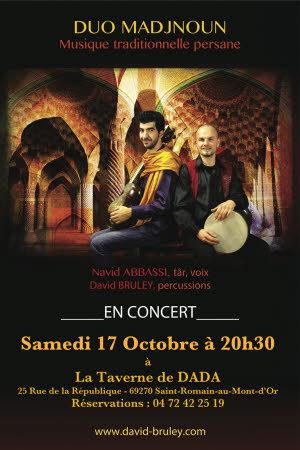 Concert de Musique Persane : Duo Madjnoun