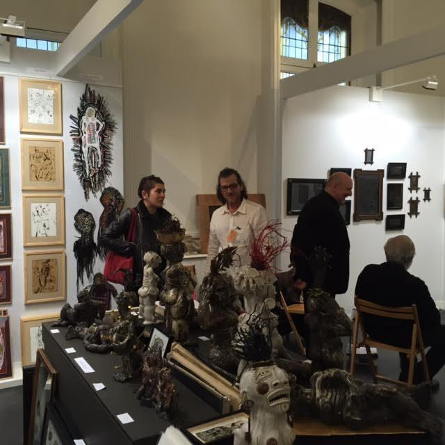 Foisonnement et élégance à l'Hotel du Duc pour la Outsider Art Fair Paris 2015