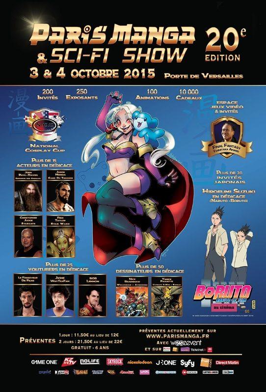 Paris Manga 20e édition : un bel anniversaire… sur le papier !