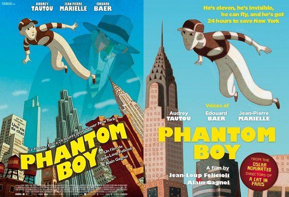 [Critique] « Phantom Boy » Nouvelle réussite animée des studios Folimage