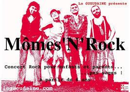 A voir en Famille : Rock N'Mômes (Cie La Gueudaine)