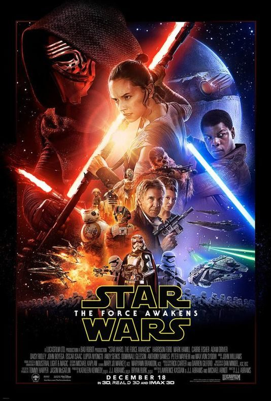 Star Wars 7 : enfin l'affiche officielle