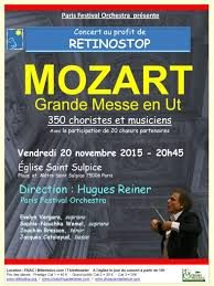 Grand concert caritatif au profit de Retinostop