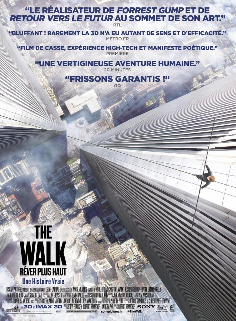 [Critique] « The Walk » de Robert Zemeckis. Film poétique célébrant la beauté du geste