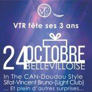 Vtr fête ses 3 ans à la Bellevilloise ! Soirée culturelle et solidaire le 24 octobre 2015