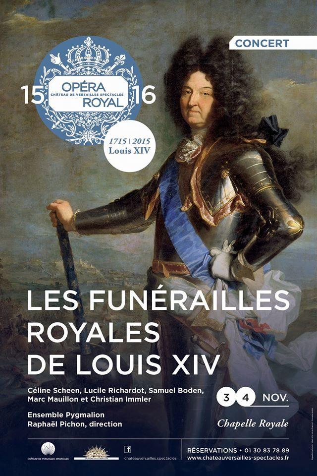 [Live-Report] Les Funérailles de Louis XIV par Pygmalion à Versailles : royales!