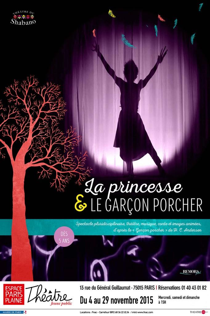 «La princesse et le garçon porcher», un spectacle enchanteur à partir de 5 ans