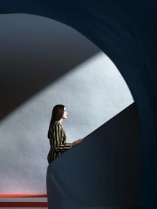 Charlotte, 2015, Clark et Pougnaud, Tirage pigmentaire sur Hannemühle, 50 x 40 cm, Tirage unique © Clark et Pougnaud Courtesy Galerie Photo12