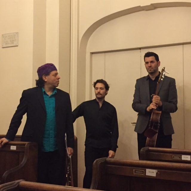 [Live-report] Jazz'n Klezmer reprend à la Synagogue de la rue Copernic avec Azafea (19/11/2015)