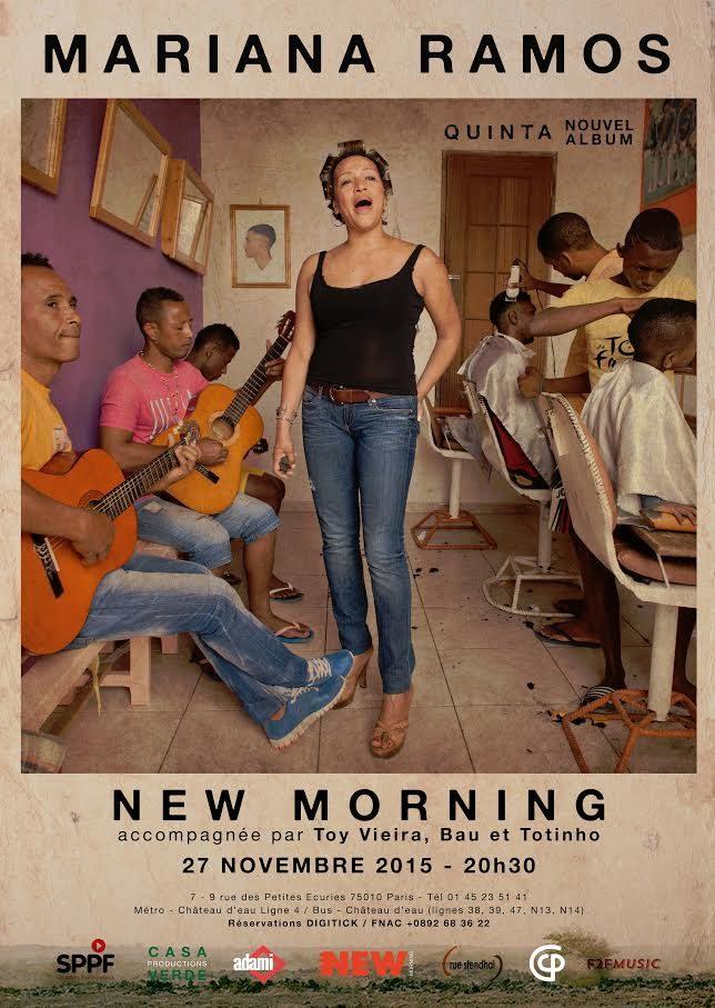 Gagnez 3×2 places pour le concert de Mariana Ramos au New Morning le 27 novembre