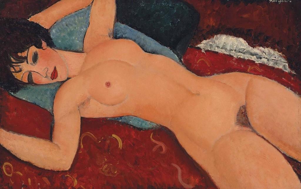 Prix de vente record pour «Nu couché» de Modigliani