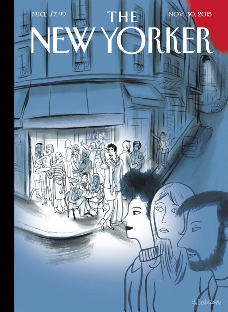 Un café en Une du New Yorker pour rendre hommage à Paris