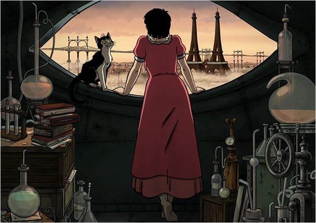 «Avril et le Monde Truqué» une intrigue inspirée