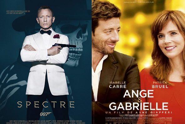 Box-office France semaine : 2,2 millions d'entrées pour James Bond avec Spectre et succès de Patrick Bruel