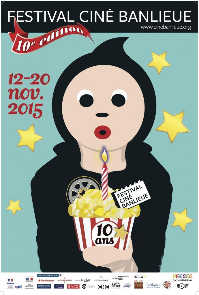 Festival « Ciné Banlieue » 2015 : programme de l'édition anniversaire parrainée par Reda Kateb