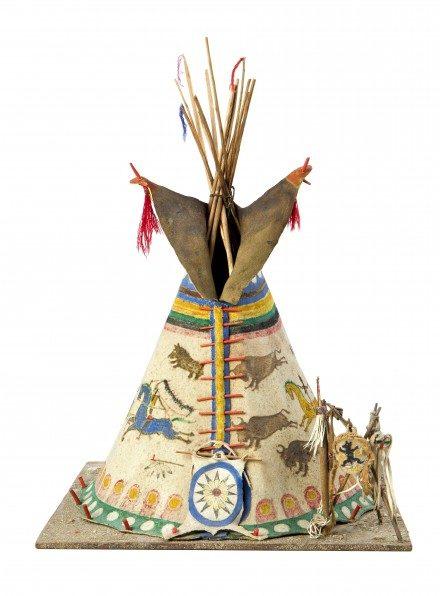 L'exposition American Indian Art à la Galerie Catherine Houard