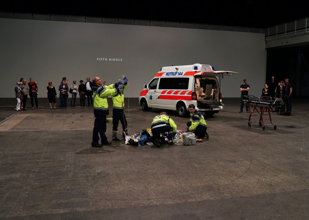 [Festival d'Automne] « Le Metope del Partenone » : Romeo Castellucci nous maintient vivants devant les morts