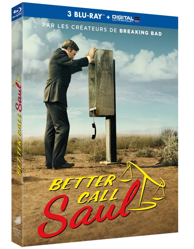 Gagnez 2 Blu-Ray + 1 DVD + 3 clés USB de la saison 1 de « Better Call Saul »
