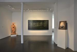 Vue d'une des salles de l'exposition, rue de Saintonge. Courtesy Jeanne Bucher Jaeger, Paris.