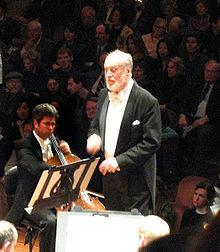 Décès de l'immense chef d'orchestre et humaniste Kurt Masur