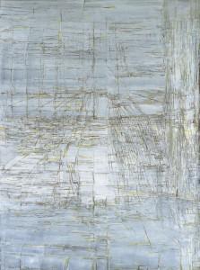 Maria Helena Vieira da Silva, Ariane, 1988. Huile sur toile, 130 x 97 cm. Courtesy Jeanne Bucher Jaeger, Paris.