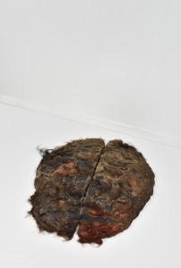 Cervelles Tapis à la sangle et aux cheveux de Bruxellois 67 X 79 X 6cm Technique mixte 2015