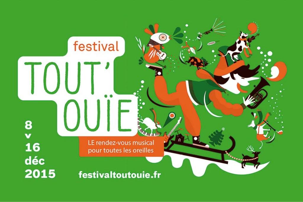 Festival Tout'Ouïe ! 8 au 16 décembre 2015 à la Ferme du Buisson