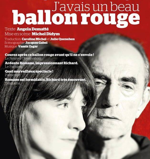 «J'avais un beau ballon rouge : Bohringer père et fille à nouveau sur scène ensemble au Théâtre de l'Atelier