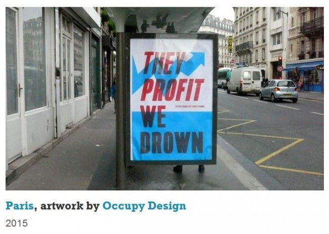 COP21 : les sponsors moqués