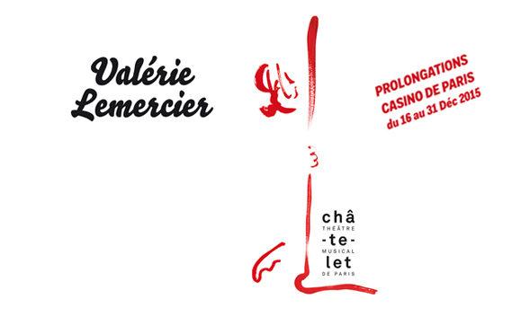 Après son triomphe au Châtelet, Valérie Lemercier joue à guichets fermés au Casino de Paris !