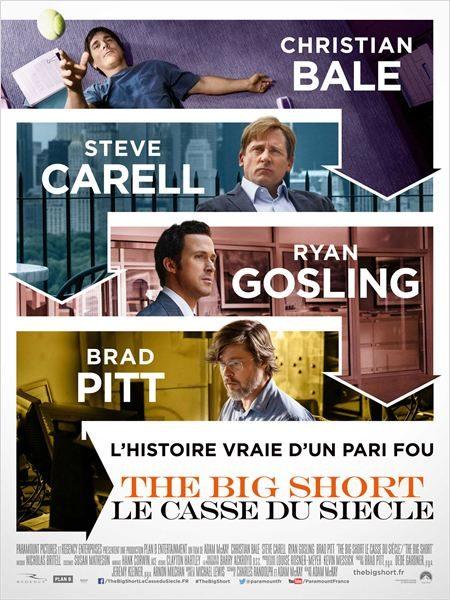 [Critique] « The Big Short : le casse du siècle » : divertissement pédagogique ludique sur la crise des subprimes