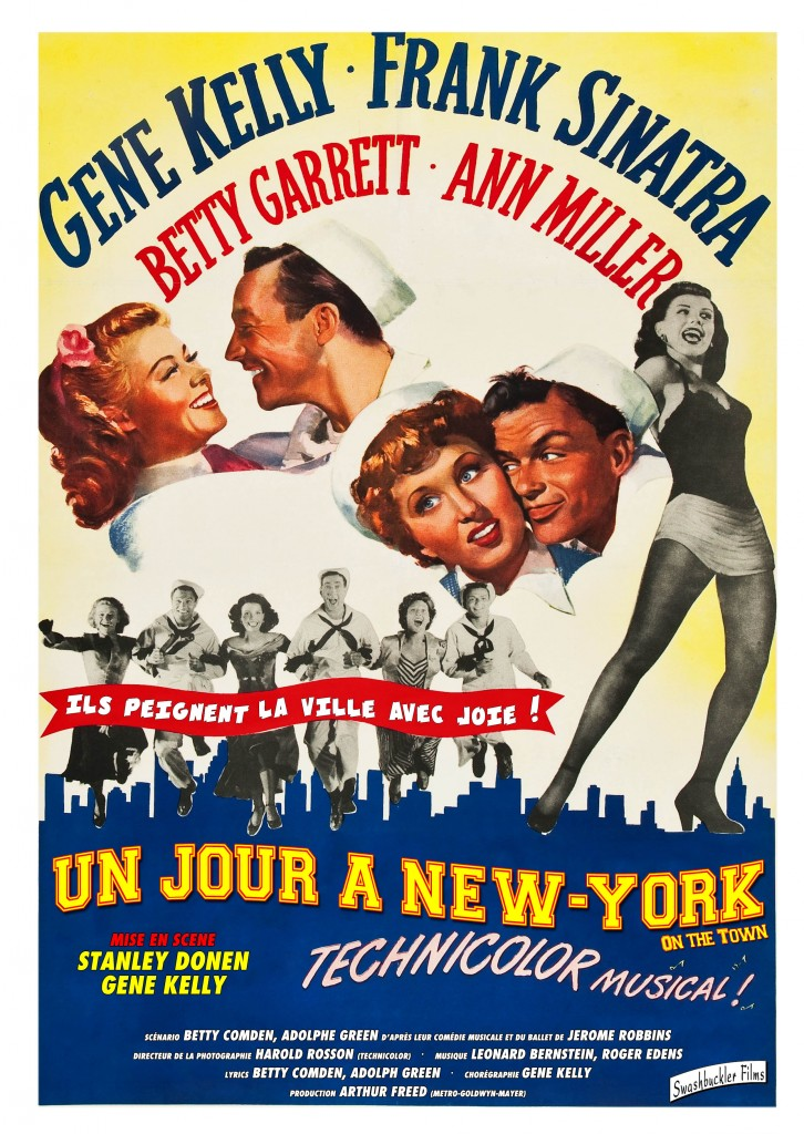 [Réédition] Un jour à New-York de Stanley Donen : la comédie musicale restaurée
