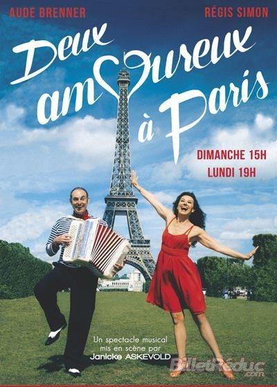 «Deux amoureux à Paris» au Théâtre de la Contrescarpe